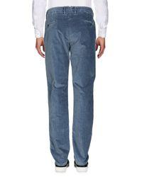 Pantalones Incotex de hombre de color Blue