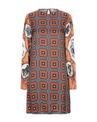 Robe courte Suoli en coloris Brown