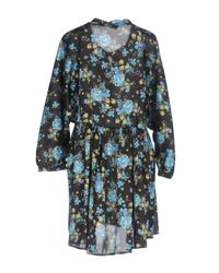 ViCOLO Black Short Dresses