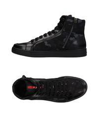 Prada Sport Black High-tops & Sneakers for men