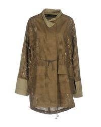 Brian Dales Green Overcoat