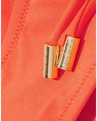 Maillot deux pièces Melissa Odabash en coloris Orange