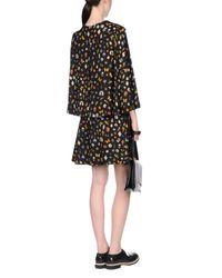 Alexander McQueen Black Short Dress