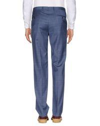 Corneliani Blue Casual Pants for men