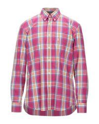 Camisa Barbour de hombre de color Multicolor