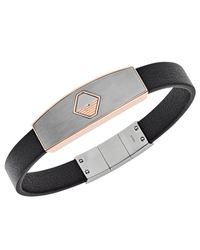 Emporio Armani Armband in Black für Herren