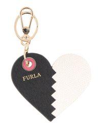 Furla Black Key Ring