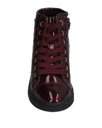 Geox Purple High-tops & Sneakers