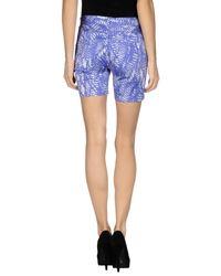 MM6 by Maison Martin Margiela Purple Shorts
