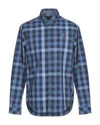 Camicia di Napapijri in Blue da Uomo