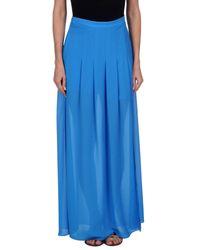 Jupe longue Pinko en coloris Blue