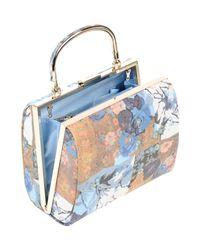 Olga Berg Blue Handbag