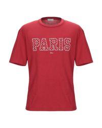 T-shirt di Dior Homme in Red da Uomo