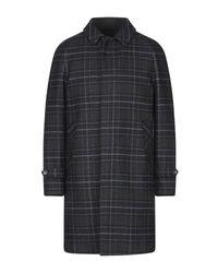 Hevò Gray Coat for men