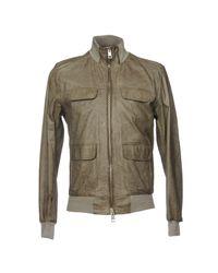 Brian Dales Green Jacket for men
