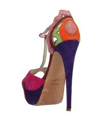 Brian Atwood - Multicolor Sandals - Lyst