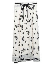 3.1 Phillip Lim White Long Skirt