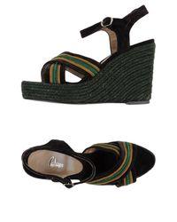 Castaner Brown Sandals