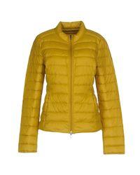 Patrizia Pepe Yellow Down Jacket