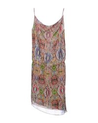 Manila Grace Green Knee-length Dress