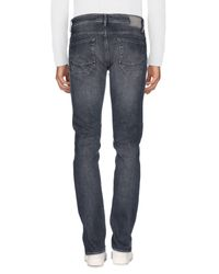 Siviglia Gray Denim Trousers for men