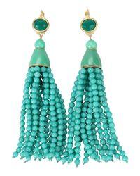Kenneth Jay Lane | Green Earrings | Lyst