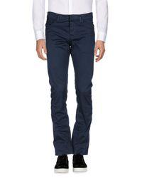 Balenciaga Blue Casual Trouser for men