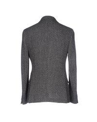 Mp Massimo Piombo - Gray Blazer for Men - Lyst