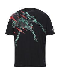 Camiseta Marcelo Burlon de hombre de color Black