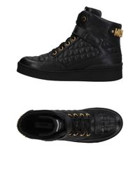 Moschino - Black High-tops & Sneakers for Men - Lyst