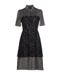 Vestito al ginocchio di Dolce & Gabbana in Black