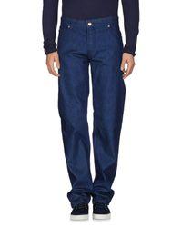 Pantalones vaqueros Armani de hombre de color Blue
