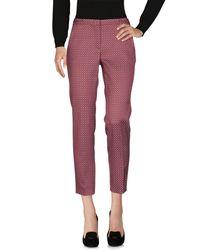 Weekend by Maxmara Purple Casual Pants