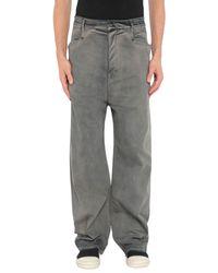 Pantalon en jean Rick Owens Drkshdw pour homme en coloris Blue