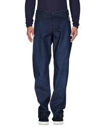 Jeckerson Blue Denim Pants for men