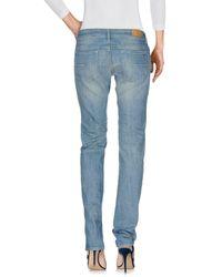 Mauro Grifoni Blue Denim Pants