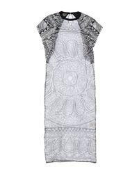 Robe longue Giambattista Valli en coloris Black