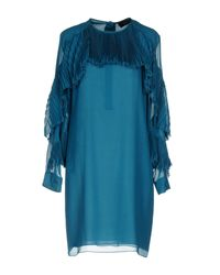 Gucci Blue Short Dresses