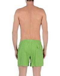Roda At The Beach Green Swimming Trunks for men