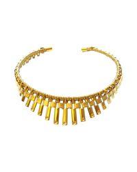Vanina | Metallic Necklace | Lyst