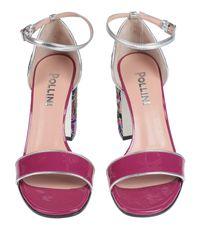 Pollini Multicolor Sandals