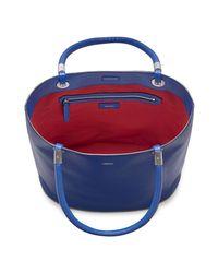Lancel Blue Handbag