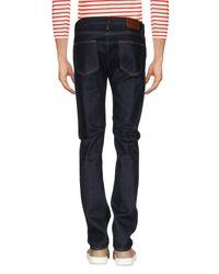 Burberry Blue Denim Pants for men