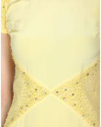 Emilio Pucci - Yellow Long Dress - Lyst