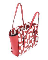 Bolso de mano Calvin Klein de color Red