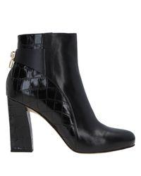 MICHAEL Michael Kors Black Ankle Boots
