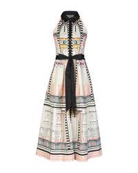 Vestito longuette di Temperley London in Multicolor