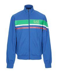 EA7 Sweatshirt in Blue für Herren
