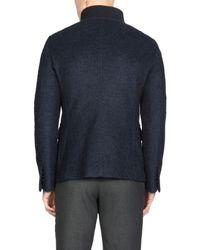 Giorgio Armani - Blue Jacket for Men - Lyst