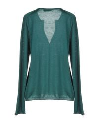 ROSSO35 Green Cardigan